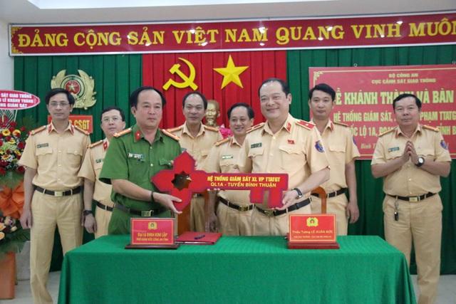 Bình Thuận: Đưa vào hoạt động hệ thống camera giám sát trên quốc lộ 1A - 1