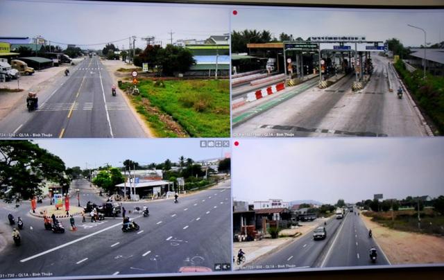 Bình Thuận: Đưa vào hoạt động hệ thống camera giám sát trên quốc lộ 1A - 3
