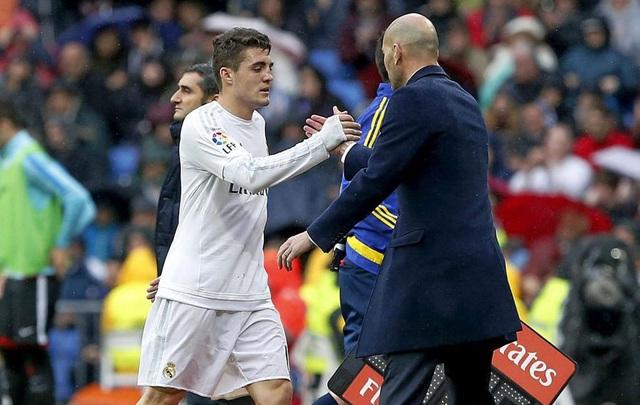 Hàng loạt ngôi sao trẻ tắt lịm dưới tay của HLV Zidane - 2