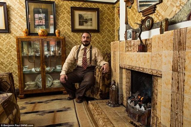 Bên trong ngôi nhà như xuyên không về 100 năm trước - 8
