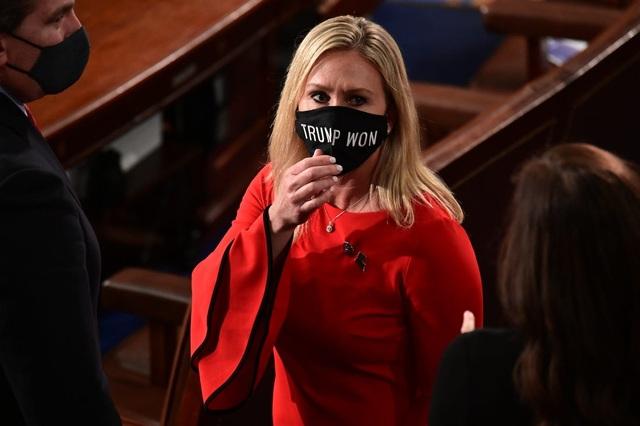 Nữ nghị sĩ Cộng hòa trình điều khoản luận tội ông Biden - 1