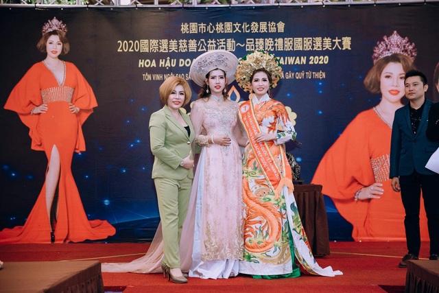 Hoa hậu Thanh Tâm yêu nhất trang phục áo dài - 1