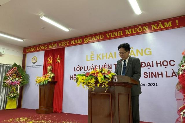 Đại học Huế: Khai giảng lớp học về Luật cho 64 lưu học sinh Lào  - 2
