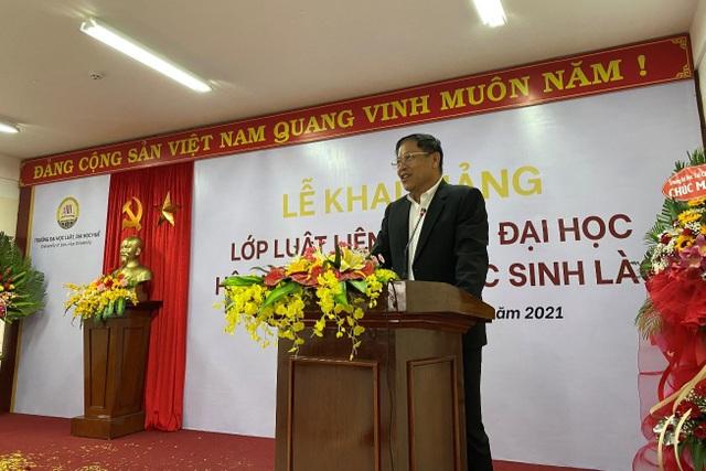 Đại học Huế: Khai giảng lớp học về Luật cho 64 lưu học sinh Lào  - 3