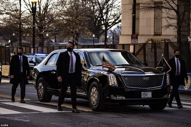 Dàn siêu xe bọc thép hùng hậu nhất lịch sử trong ngày ông Biden nhậm chức - 5