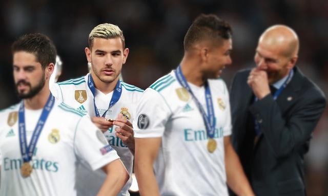 Hàng loạt ngôi sao trẻ tắt lịm dưới tay của HLV Zidane - 3
