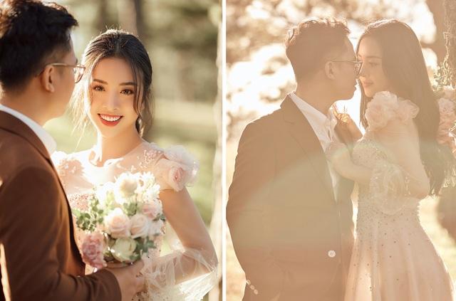 Á hậu Thúy An ngọt ngào khóa môi chồng tại Đà Lạt - 9