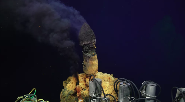 Phát hiện hàng trăm dạng sống chưa từng thấy sống trong ngọn núi lửa - 1
