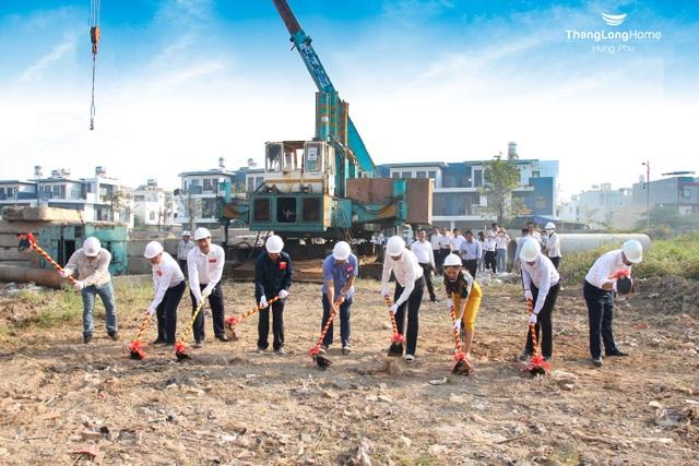 Hưng Phú Invest khởi động gói thầu xây dựng đầu tiên dự án chung cư cao tầng C1, C2 - 4