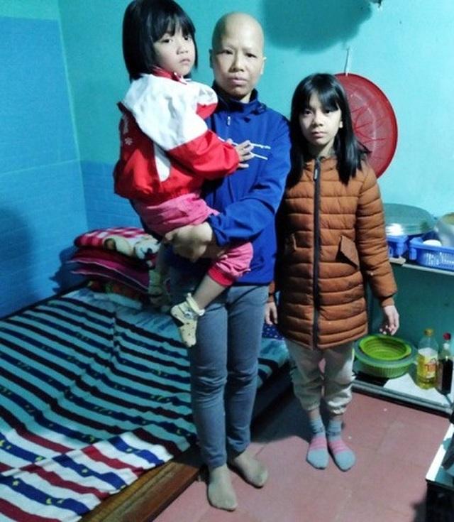 Người mẹ ung thư nghẹn ngào cầu xin các nhà hảo tâm thương 3 đứa con mồ côi - 3