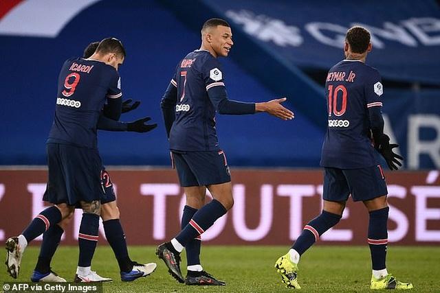 Neymar và Mbappe cùng tỏa sáng, PSG giữ vững ngôi đầu bảng Ligue 1 - 5
