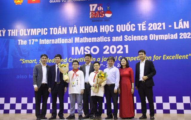Việt Nam giành 2 Huy chương Vàng Olympic Toán học và Khoa học quốc tế - 1