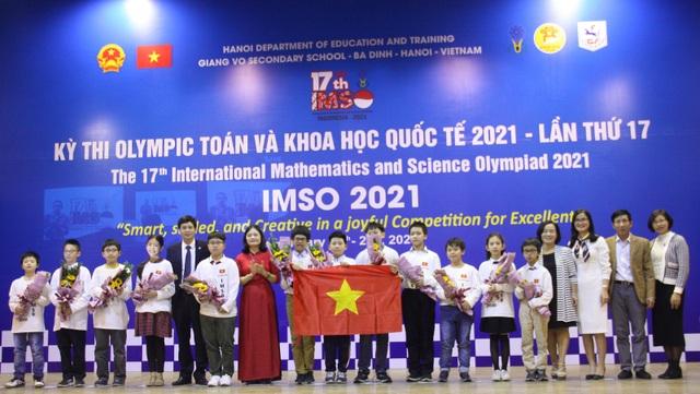 Việt Nam giành 2 Huy chương Vàng Olympic Toán học và Khoa học quốc tế - 3