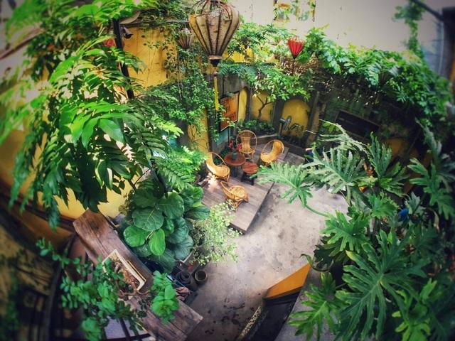 Quán cà phê trong ngôi biệt thự cổ ở Hà Nội - 2