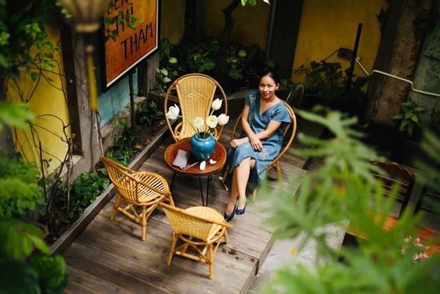 Quán cà phê trong ngôi biệt thự cổ ở Hà Nội - 5