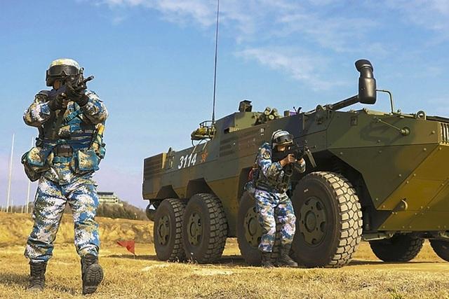 Quân đội Trung Quốc tăng tốc chuẩn bị cho chiến tranh - 1