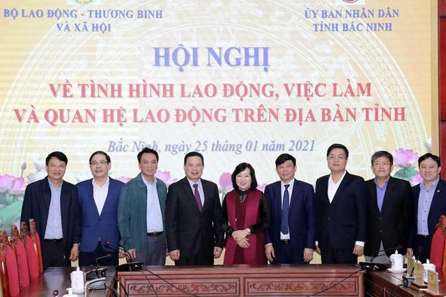 Bắc Ninh cần chủ động quan tâm dự báo cung cầu nhân lực - 1