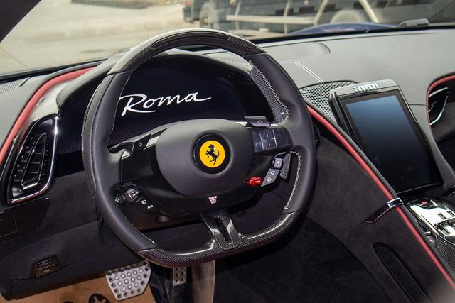 Soi chi tiết Ferrari Roma: Siêu xe 20 tỷ độc nhất châu Á vừa về Việt Nam - 8