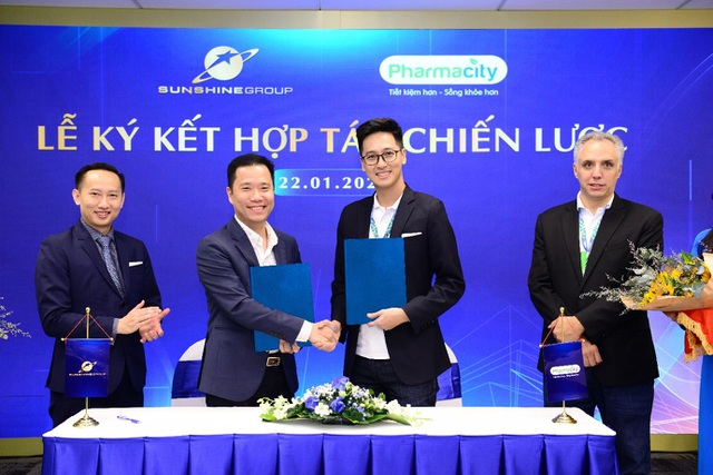 Sunshine Group hợp tác chiến lược với Pharmacity - 1