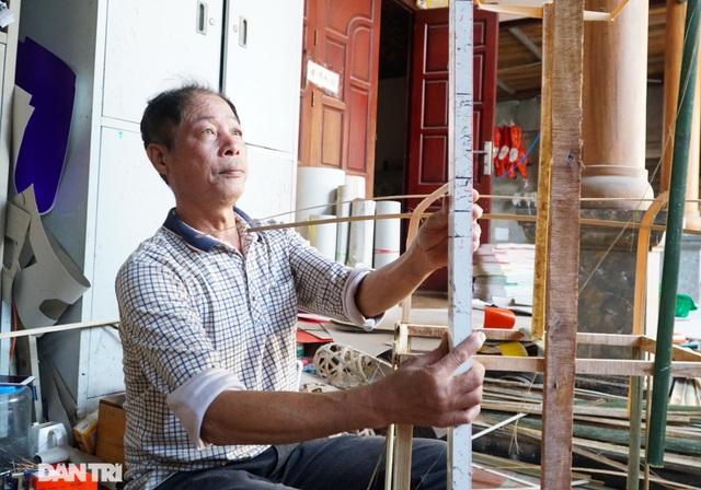 Nơi cả làng chỉ đan rổ rá nay thành thủ phủ của những nghệ nhân làm vàng mã - 7