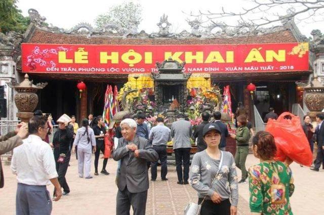 Dừng tổ chức lễ hội Khai ấn đền Trần 2021 - 1