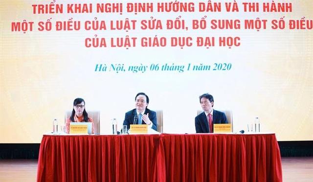 Bộ Nội Vụ trả lời Bộ Giáo dục về quy định người đứng đầu trường đại học - 2