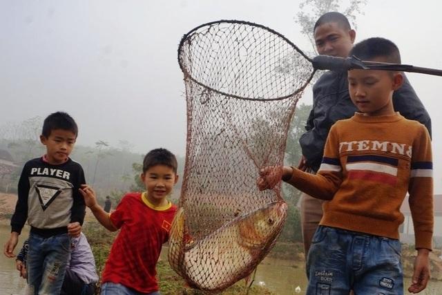 Giáp Tết, bội thu nhờ nuôi cá vụ 3 thay trồng lúa - 6