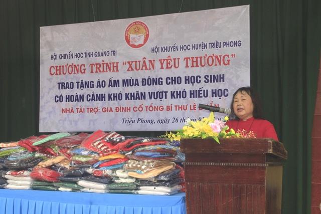 Quảng Trị: Mang Xuân yêu thương đến với học sinh nghèo hiếu học vùng lũ - 1