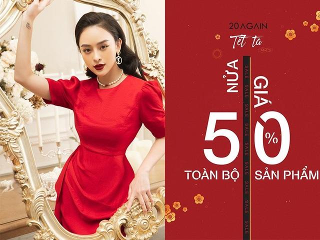 Thời trang 20AGAIN: Giảm giá khủng 50% - mua sắm ngay trước Tết - 1