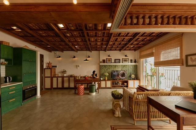 Không gian hoài cổ trong căn chung cư tuyệt đẹp của cặp vợ Việt chồng Tây - 1