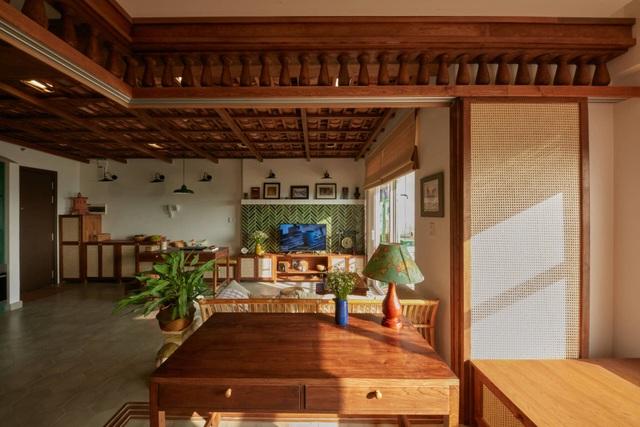 Không gian hoài cổ trong căn chung cư tuyệt đẹp của cặp vợ Việt chồng Tây - 2