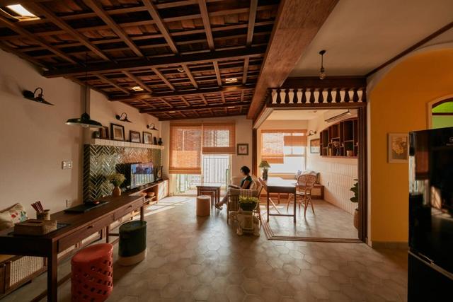 Không gian hoài cổ trong căn chung cư tuyệt đẹp của cặp vợ Việt chồng Tây - 3