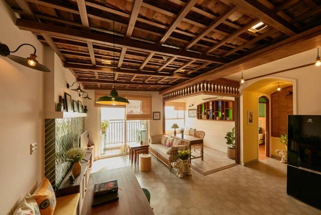 Không gian hoài cổ trong căn chung cư tuyệt đẹp của cặp vợ Việt chồng Tây - 4