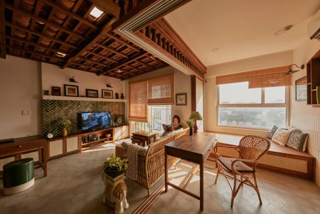 Không gian hoài cổ trong căn chung cư tuyệt đẹp của cặp vợ Việt chồng Tây - 5