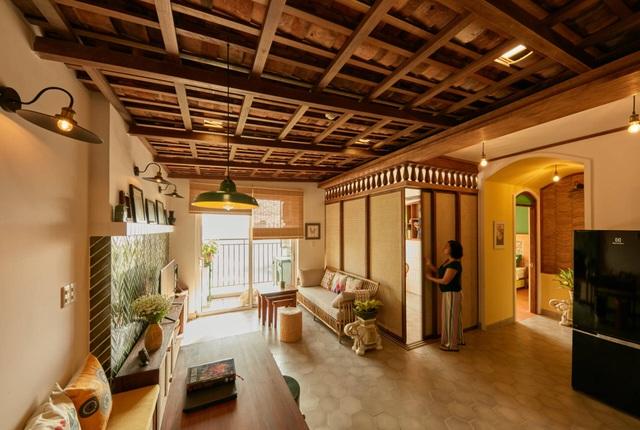 Không gian hoài cổ trong căn chung cư tuyệt đẹp của cặp vợ Việt chồng Tây - 6