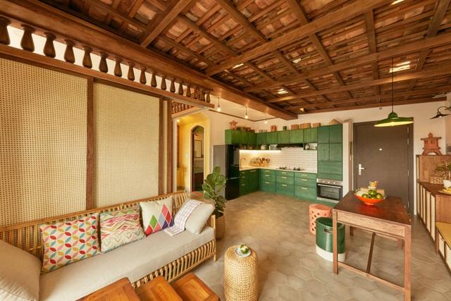 Không gian hoài cổ trong căn chung cư tuyệt đẹp của cặp vợ Việt chồng Tây - 7