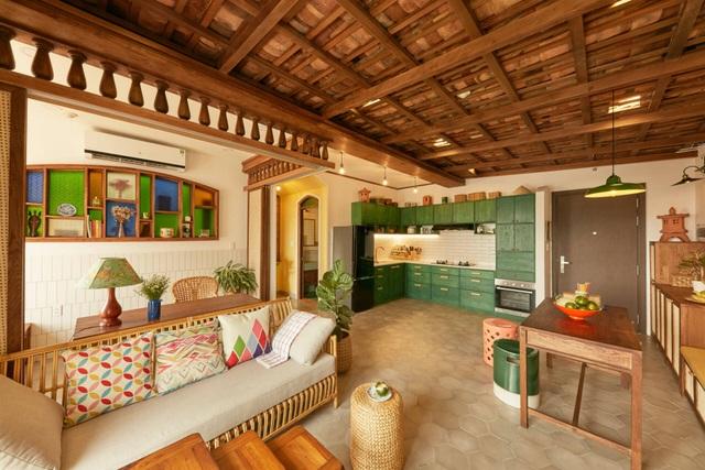 Không gian hoài cổ trong căn chung cư tuyệt đẹp của cặp vợ Việt chồng Tây - 10