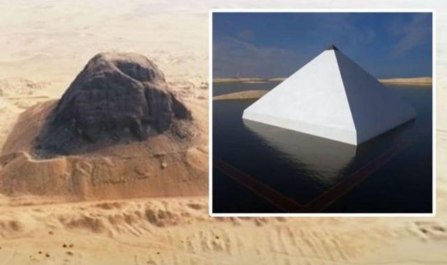 Giải mã bí ẩn kim tự tháp trôi nổi của Ai Cập - 1