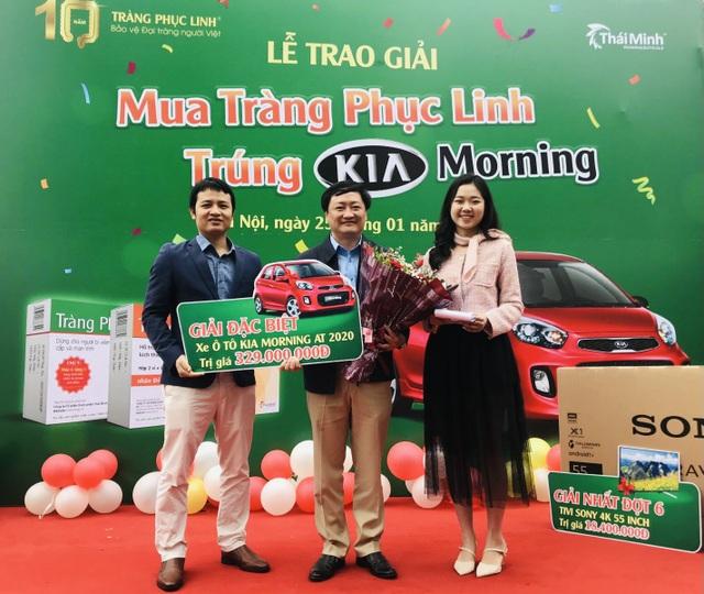 Tràng Phục Linh Plus trao ô tô cho khách hàng trúng thưởng - 2