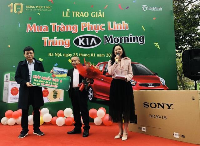 Tràng Phục Linh Plus trao ô tô cho khách hàng trúng thưởng - 4