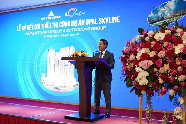 Tập đoàn Đất Xanh và Coteccons bắt tay xây dựng dự án Opal Skyline - 2
