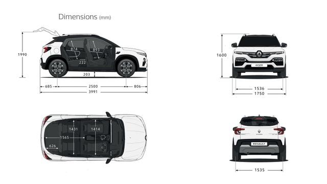 Renault Kiger gia nhập phân khúc crossover tí hon - 18