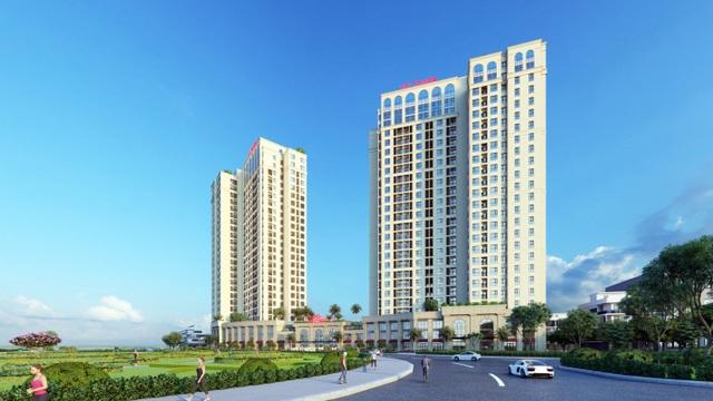 VCI Tower cất nóc đúng tiến độ, khẳng định đẳng cấp, uy tín và tiềm lực vững mạnh của chủ đầu tư - 1