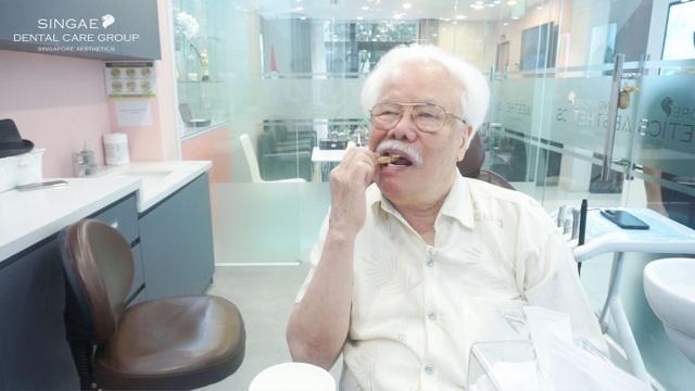 Lần đầu tiên, Việt Nam trồng 9 răng Implant thành công cho cụ 86 tuổi - 2