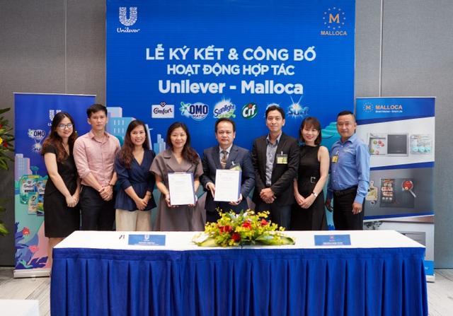 Thiết bị nhà bếp Malloca ký kết hợp tác chiến lược với Unilever - 1