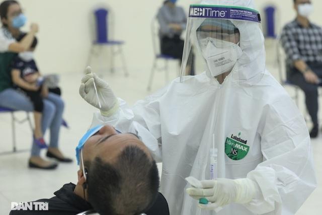 Hà Nội thêm 2 trường hợp dương tính SARS-CoV-2 tại Đông Anh và Mê Linh - 1