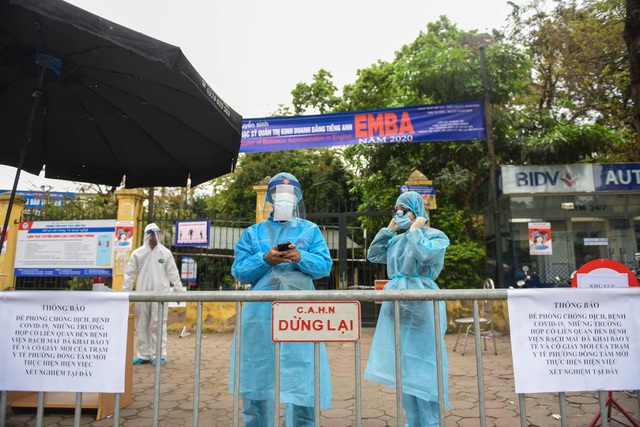 Hà Nội: Cách ly nhà 88 Hàng Gai có người tiếp xúc gần ca F0 ở Quảng Ninh - 1