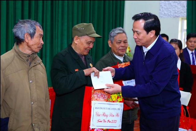 Bộ trưởng Đào Ngọc Dung ban hành Chỉ thị về tổ chức Tết Nguyên đán Tân Sửu - 1