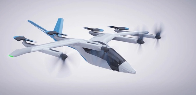 Taxi bay sẽ thử nghiệm phục vụ hành khách ở Anh trong năm 2023 - 3