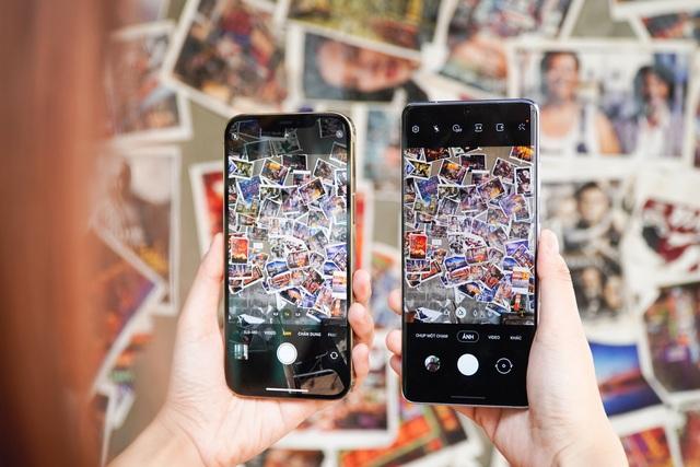 Galaxy S21 Ultra đọ dáng iPhone 12 Pro Max - 7
